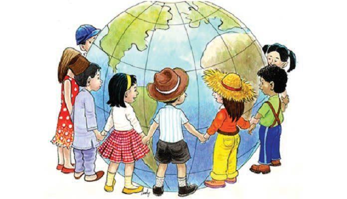 Όλα του κόσμου τα παιδιά αν δίνανε τα χέρια,