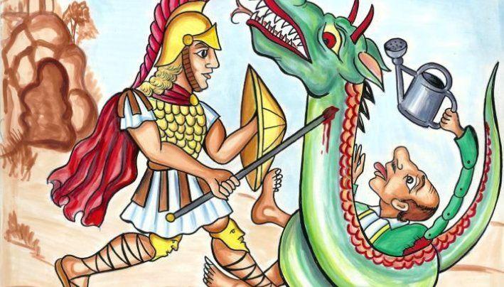 2η Παράσταση: Ο Μέγας Αλέξανδρος και το Καταραμένο Φίδι